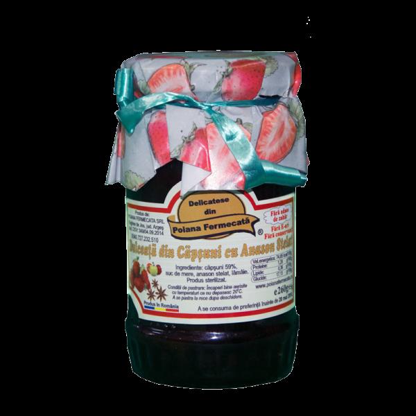 Dulceata de capsuni cu anason - Poiana Fermecata