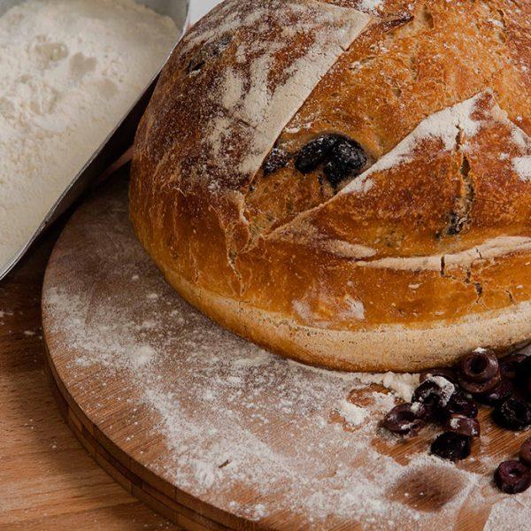 Pâine cu măsline