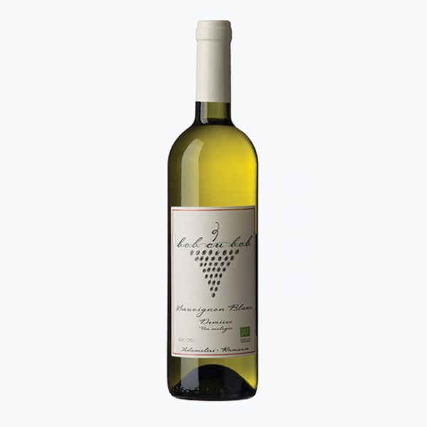 Vin ecologic Sauvignon Blanc - Bob cu bob