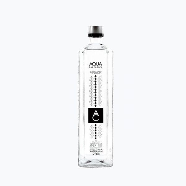 Aqua Carpatica plata sticla