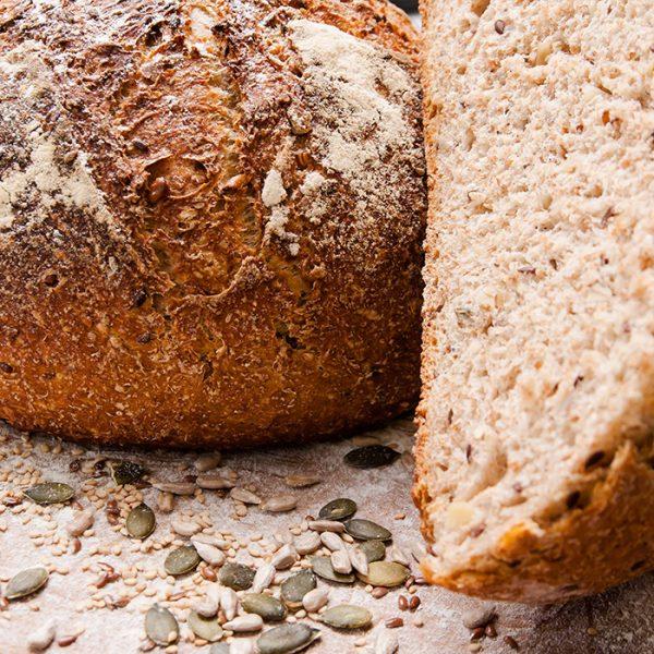 Pâine intermediară cu semințe ecologice