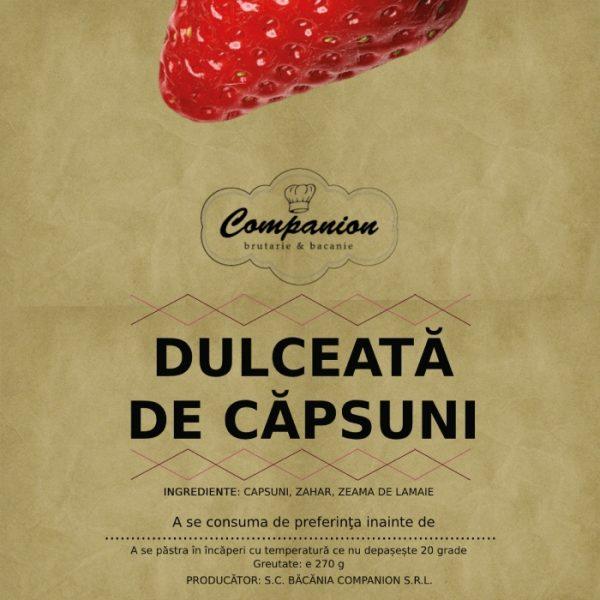 Dulceata de capsuni Companion
